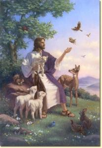 JesusWithAnimals